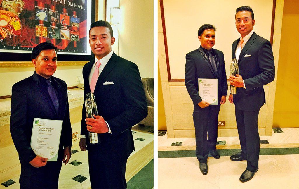 Sachi Wickramage Winner at mBillionth Awards 2014