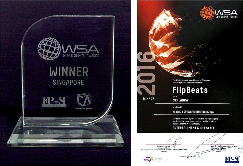 FlipBeats UN World Summit Awards Winner 2016